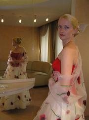 Садебное платье (эксклюзив) продам срочно