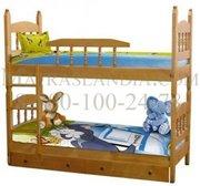 Кровать детская Шрек 3 двухярусная